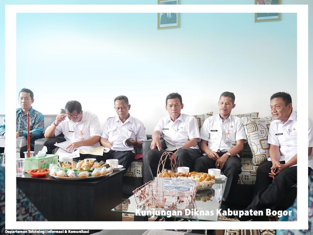 Kunjungan Diknas Bogor